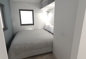 Dunn bedroom rendering by microMansions