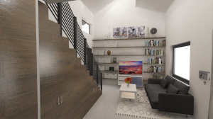 Malcom Living Room by microMansions