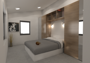 Winston Bedroom by microMansions
